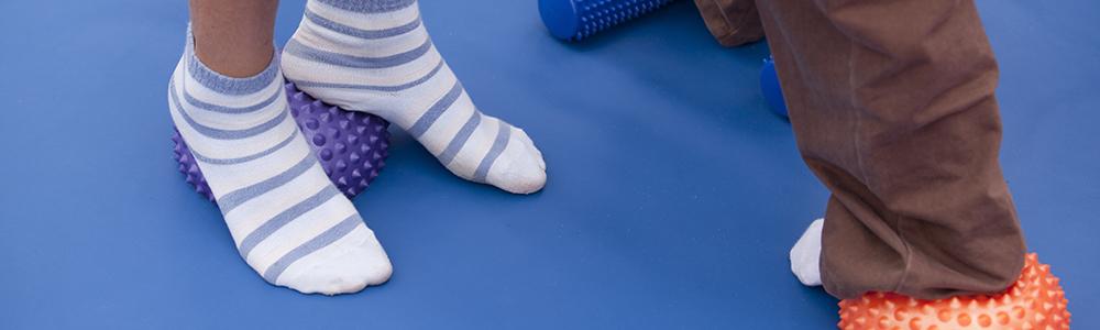flexible flat feet
